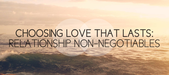 Relationship Non-negotiables
